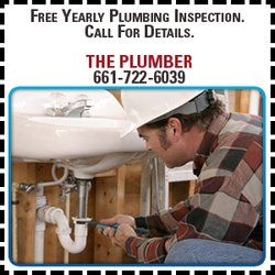 Inspection Coupon for The Plumber in Lancaster, CA